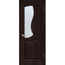 Дверь межкомнатная из массива ольхи Верона ДО, венге