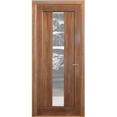 Дверь межкомнатная из массива сосны модель 1 ДО стекло кризет