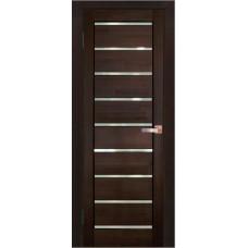 Дверь межкомнатная из массива сосны модель 2 ЧО стекло мателюк