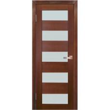 Дверь межкомнатная из массива сосны модель 2 ДО стекло мателюкс