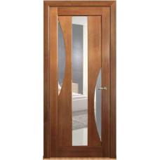 Дверь межкомнатная из массива сосны модель 5 ДО стекло кризет
