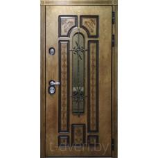 Атмосферостойкие двери из корабельной фанеры ЗИОН г Могилев модель Лацио четырехуступчатая