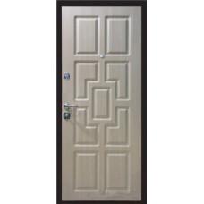 Стальная линия дверей Temidoors модель Квадро  трехуступчатая