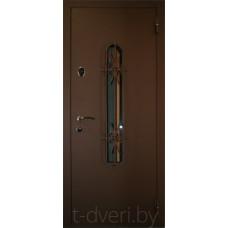 Металлическая дверь серии Temidoors  модель Лацио-2