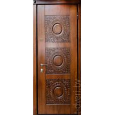 Стальная линия дверей Temidoors модель Милано четырехуступчатая