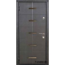 Стальная линия дверей г  Могилев модель Модерн трехуступчатая