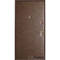 Металлическая дверь серии T-doors  модель Базис