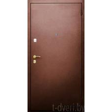 Стальная линия дверей г  Могилев модель Промо трехуступчатая