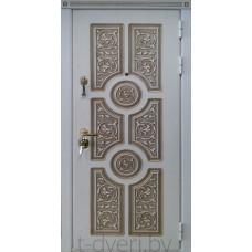 Стальная линия дверей г  Могилев модель Версаче четырехуступчатая