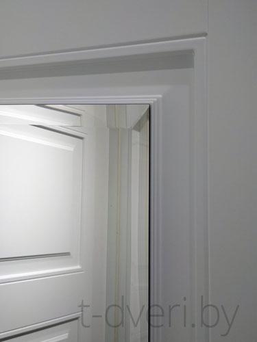Заркальная филенка вмежкомнатной двери