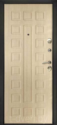 Входная металлическая дверь Дверной Континент модель Сити-1