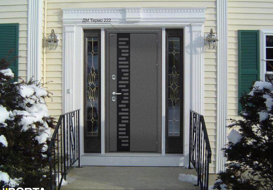 Входная дверь с терморазрывом ЭльПорта серии Термо 222