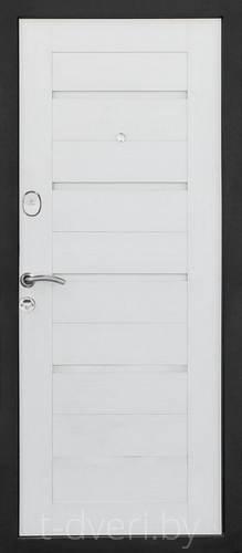 Дверь металлическая Магна Бел-06 (ясень белый)