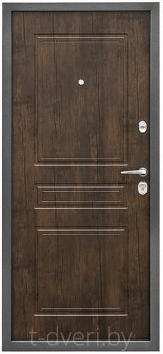 Дверь металлическая ПРОМЕТ ПРАКТИК БЕЛЕНЫЙ ДУБ