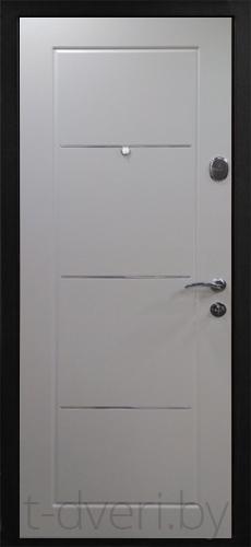 Качественная теплоизоляция. Двери с хорошим утеплителем являются непреодолимым барьером для минусовых температур и не позволяют теплу выходить наружу. Высокое качество уплотнителя не только способствует сохранению комфортной температуры внутри помещения и поглощению звуков, но и препятствует попаданию в дом посторонних запахов. Металлические полотна более устойчивы к возгораниям, чем деревянные или пастиковые. Безопасность банковского уровня. Металлическое полотно защищает дом, словно сейф с драгоценностями, к которому невозможно подобрать ключ. А особым образом спланированная конструкция повышает уровень взломостойкости. Внутри дверного полотна расположены ребра жесткости, особая форма которых обеспечивает дополнительную защиту от прорезания и высверливания.