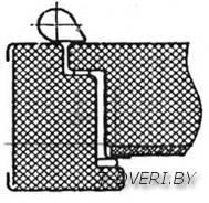 Также для тепло- и звукоизоляции и зашиты от запахов на двери должен быть установлен уплотнитель от двух контуров и больше. Он обеспечивает максимальную герметичность.