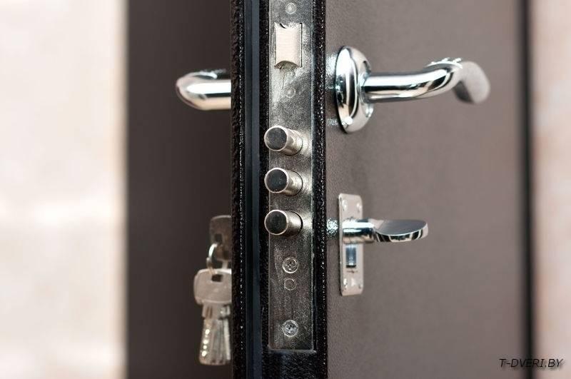 железная дверь с установкой на востоке