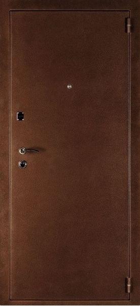 Входная металлическая дверь Дверной Континент модель Оптима-С беленый дуб