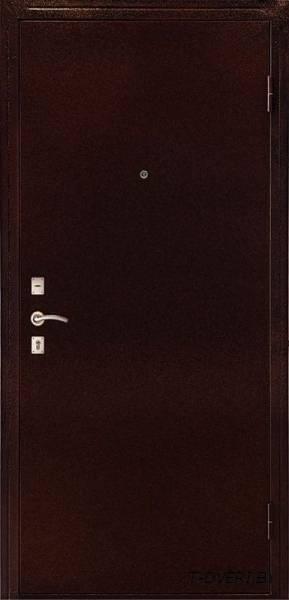 Входная металлическая дверь Дверной Континент модель Оптима-С венге