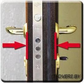 металлические двери для дома толщина 80 мм