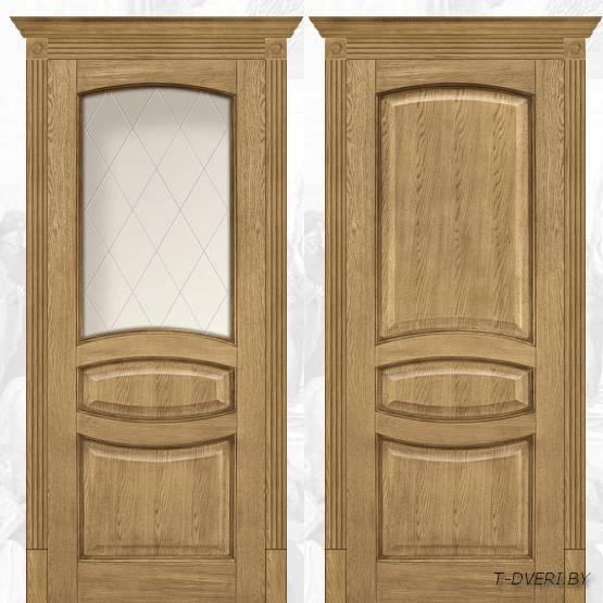 """Двери межкомнатные массив """"Халес"""" модель Вена"""