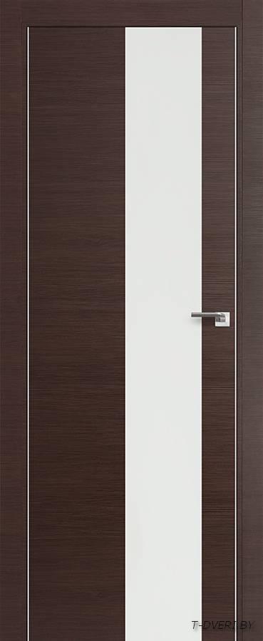 Межкомнатная дверь - Profil Doors 5Z, венге кроскут, глухая