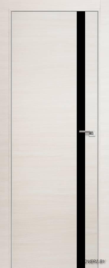 Межкомнатная дверь - Profil Doors 6Z, эш вайт кроскут, глухая