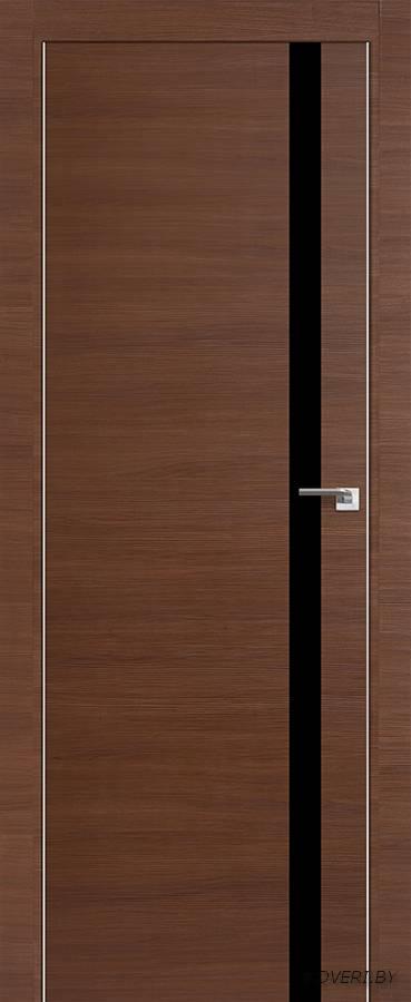Межкомнатная дверь - Profil Doors 6Z, малага черри кроскут, глухая