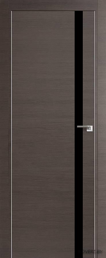Межкомнатная дверь - Profil Doors 6Z, грей кроскут, глухая