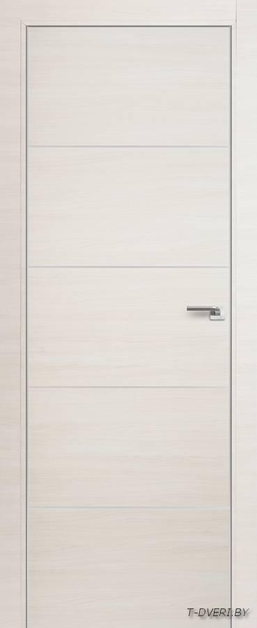 Межкомнатная дверь - Profil Doors 7Z, эш вайт кроскут, глухая