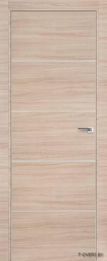 Межкомнатная дверь - Profil Doors 7Z, капучино кроскут, глухая
