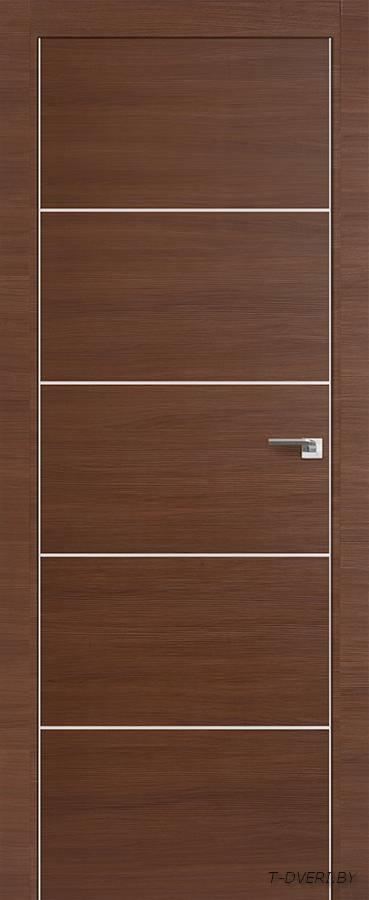 Межкомнатная дверь - Profil Doors 7Z, малага черри кроскут, глухая