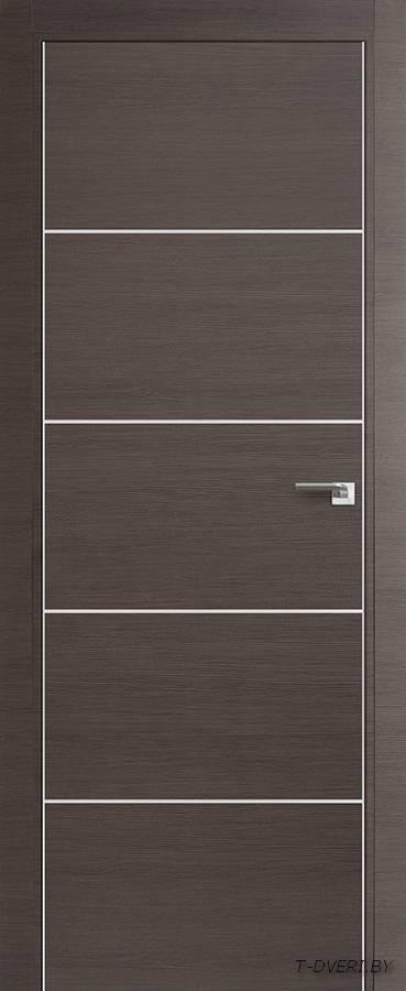 Межкомнатная дверь - Profil Doors 7Z, грей кроскут, глухая