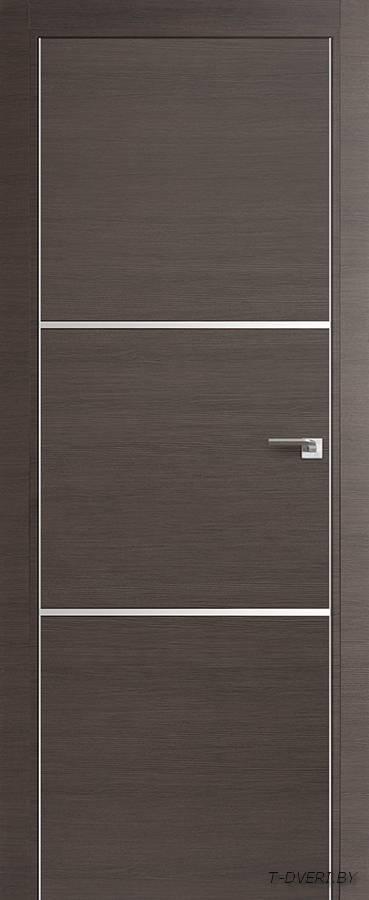 Межкомнатная дверь - Profil Doors 2Z, грей кроскут, глухая