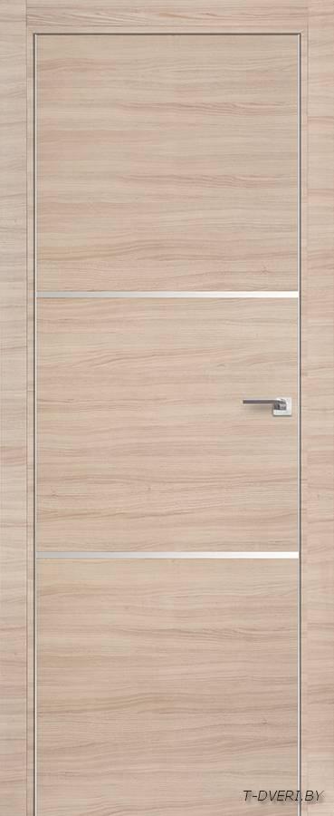 Межкомнатная дверь - Profil Doors 2Z, капучино кроскут, глухая