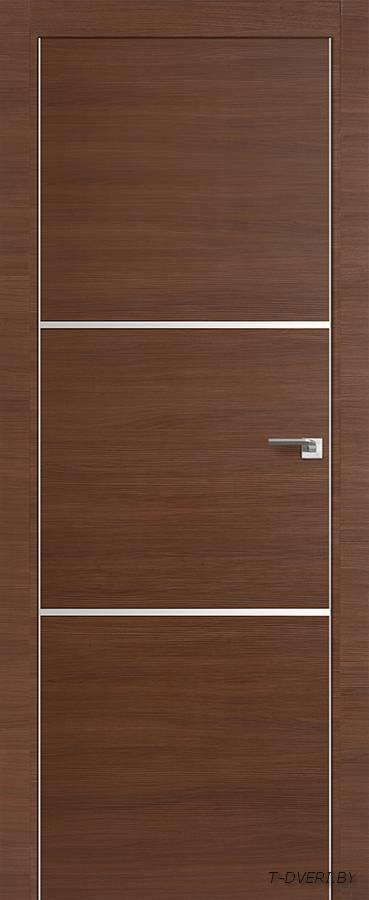 Межкомнатная дверь - Profil Doors 2Z, малага черри кроскут, глухая