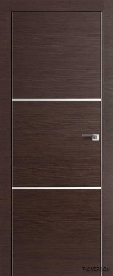 Межкомнатная дверь - Profil Doors 2Z, венге кроскут, глухая