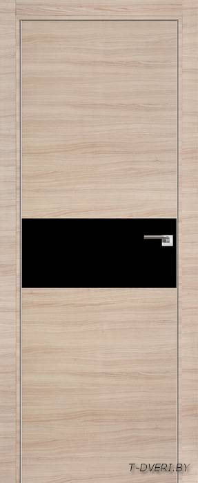 Межкомнатная дверь - Profil Doors 1Z, капучино кроскут, глухая